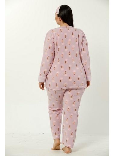 Akbeniz Welsoft Kadın Pijama Takım Pembe